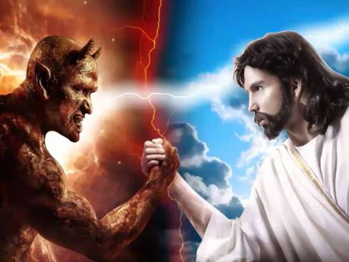 Jesus x diabo