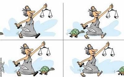 Lentidão da Justiça Brasileira
