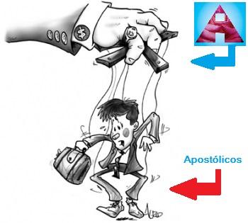 Apostólicos sendo manipulados