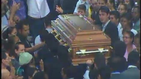 Enterro Aldo Bertoni