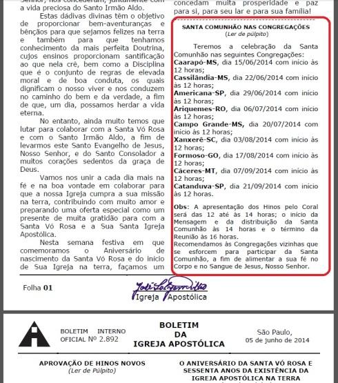 Destaques Boletim 090614