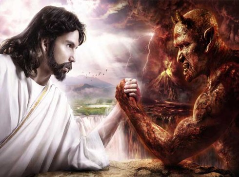 Jesus e o diabo