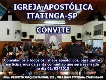 Igreja Apostólica Itatinga